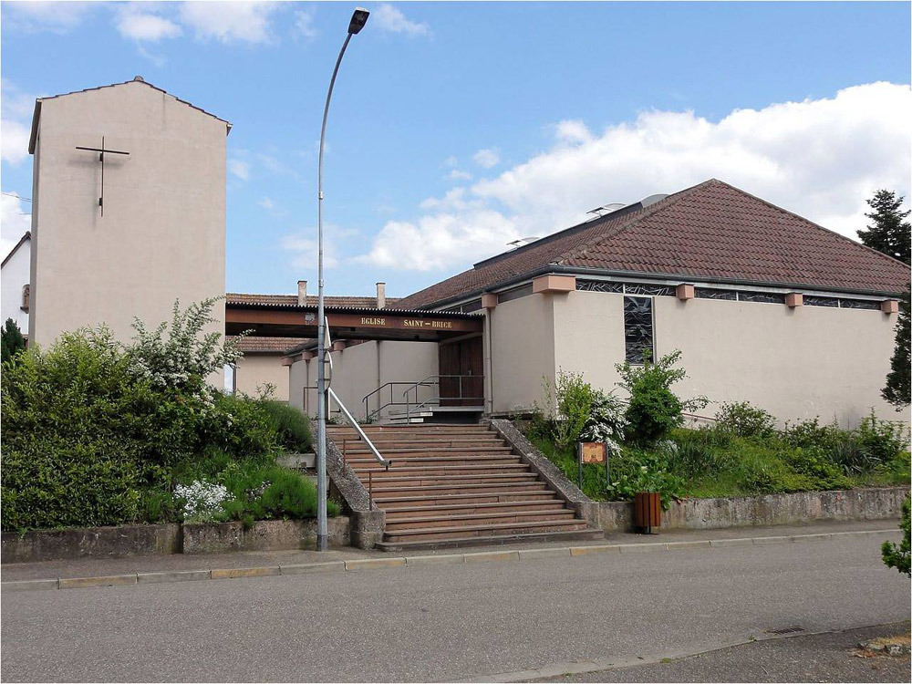 Eglise catholique de Hangenbieten